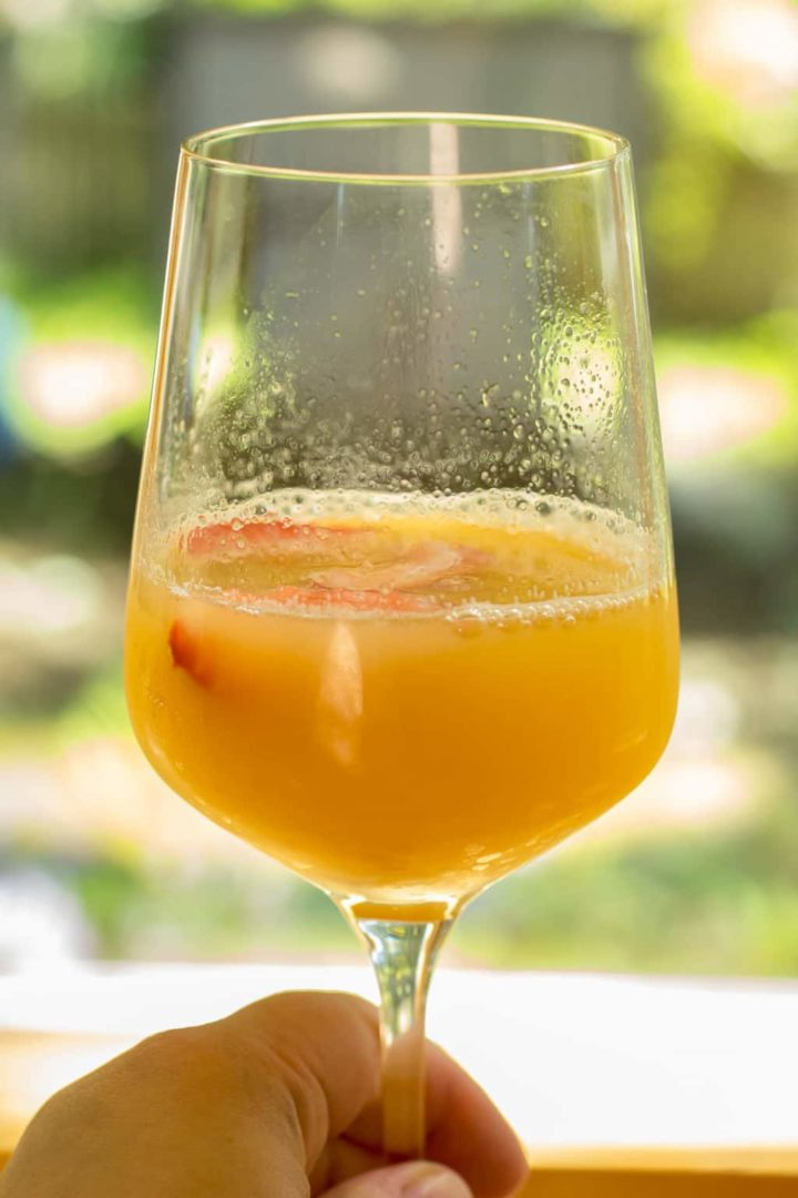 Orange Creamsicle Mimosa