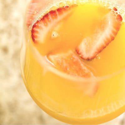 Big-Batch Orange Creamsicle Mimosa