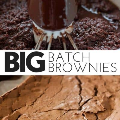 Big Batch Brownies
