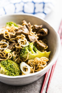 30 minute beef and broccoli