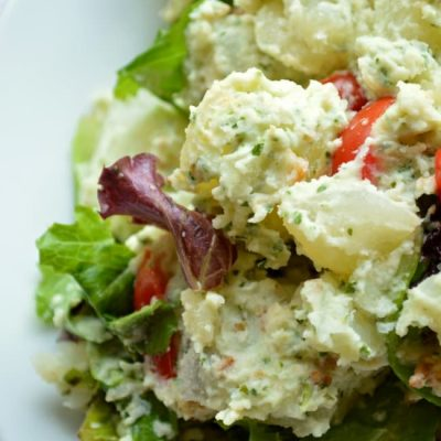 Lemon Basil Potato Salad