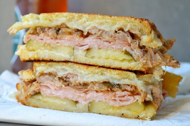 Slow Cooker Cuban Pork Sandwiches